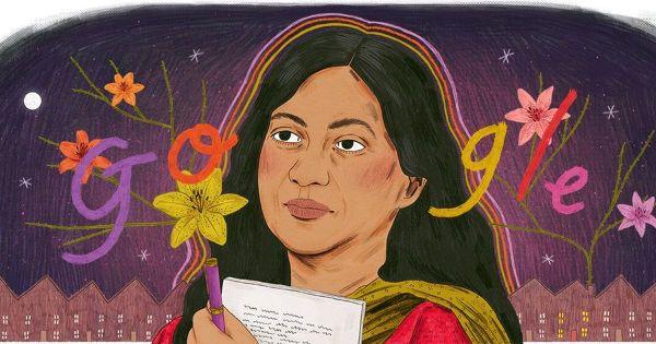 Google celebrates publication of author Kamala Das's autobiography 'My Story' with a doodle